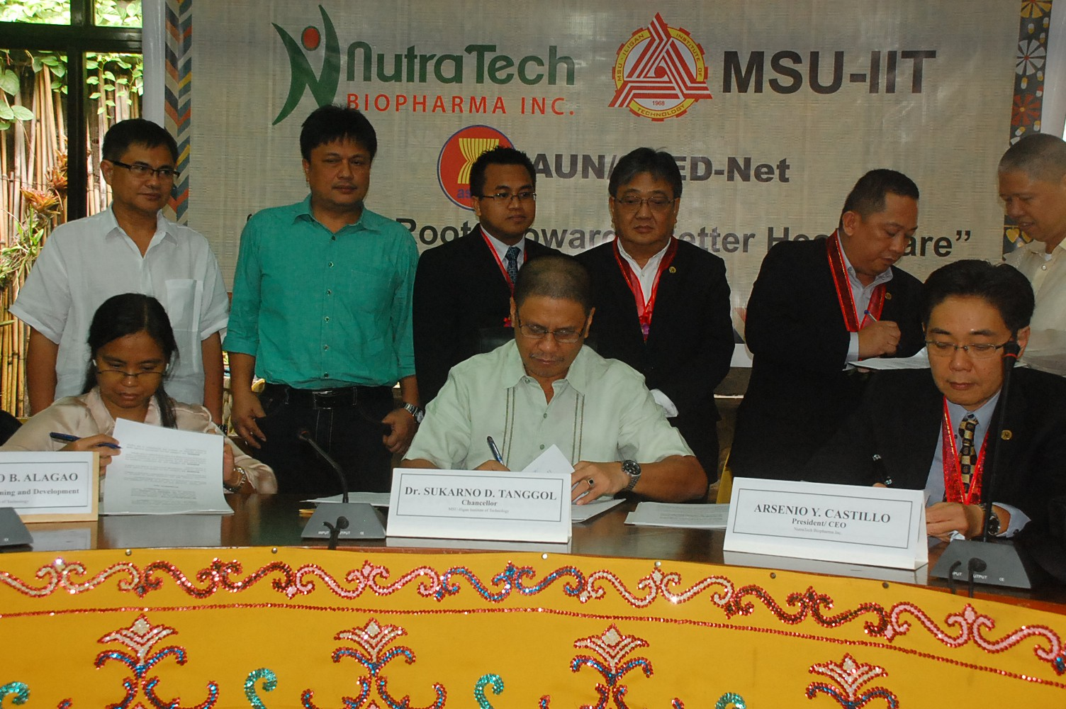 Nutra Tech Biopharma, Inc. and ASEAN University Network Member MSU-IIT Strengthens Links with Alliance