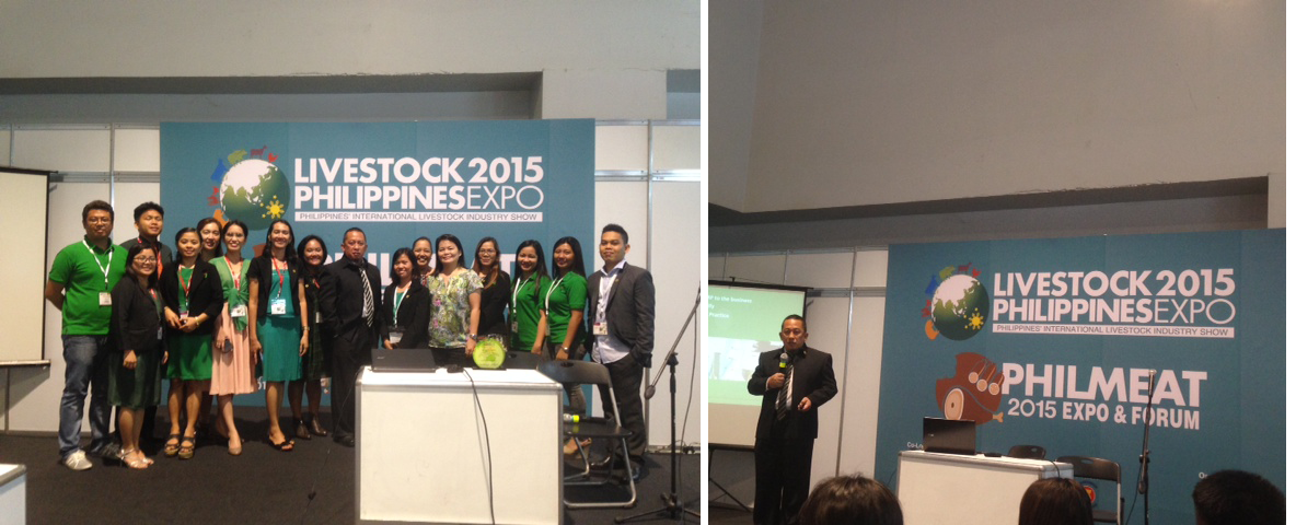 NTBI joins Livestock 2015 Philippines Expo